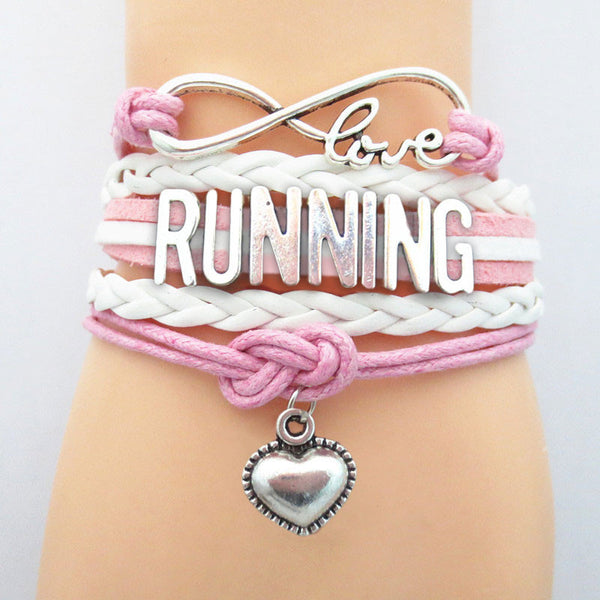 Love RUNNING sport Bracelets for runners <3