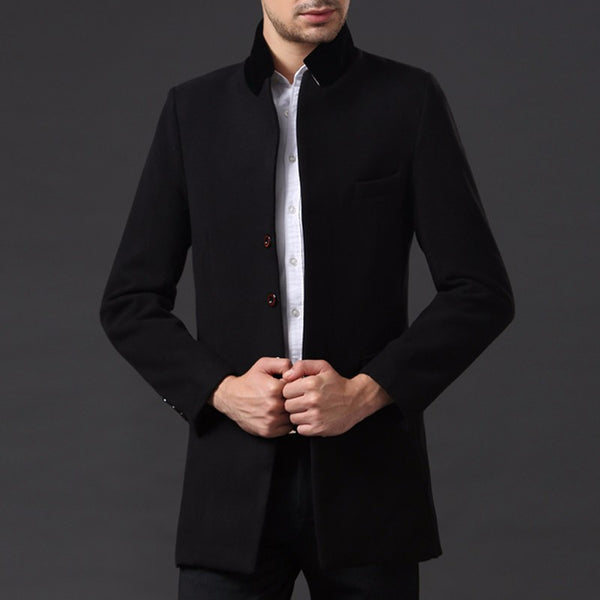 Mens Coat Spring/Winter/Autumn available in 3 colors