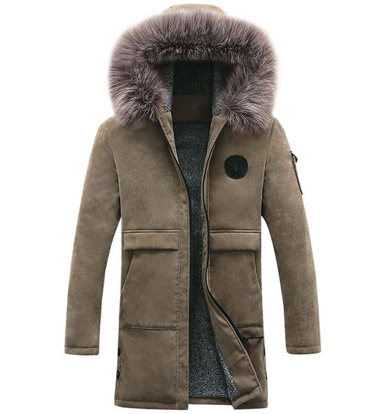 Long Cotton Parka