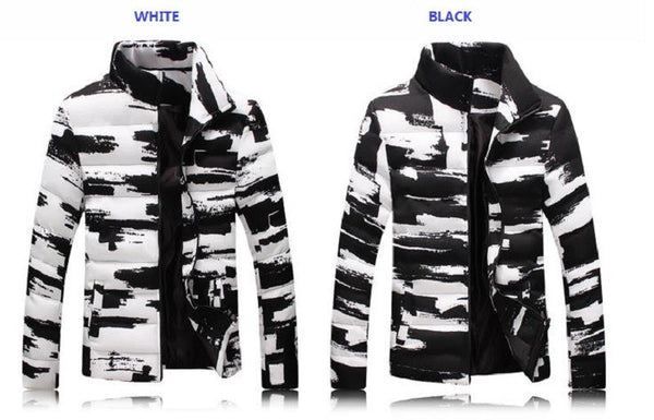 Jacket mens available 2 colors Black/ White