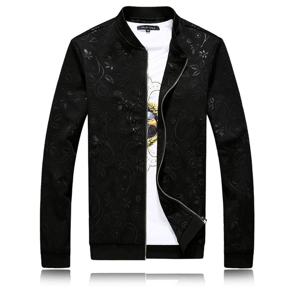 Mens Jacket Floral Print 3 colors