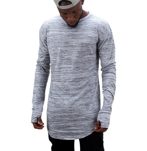 T-shirt men long sleeve 2 colors