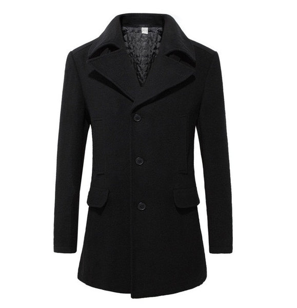 Mens Trench Coat British Style  Autum/Winter