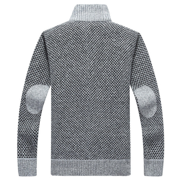Men's knitted sweater autumn and winter 4 colors.