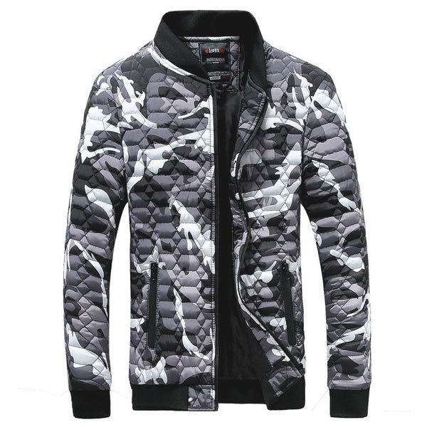 Jacket mens quilted Autumn/ Spring / Winter available in 3 colors