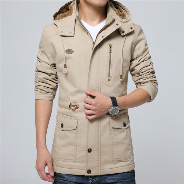 Winter Mens Jacket Coat available 4 colors