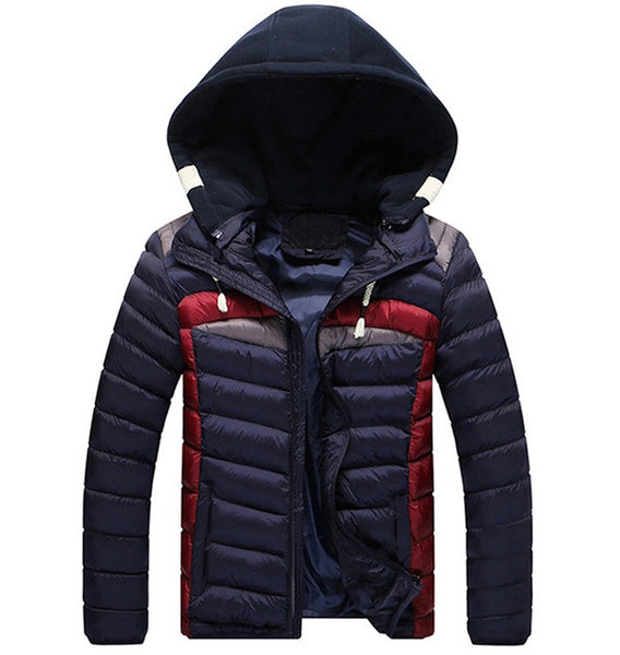 Men's Jacket Hooded available 3 colors