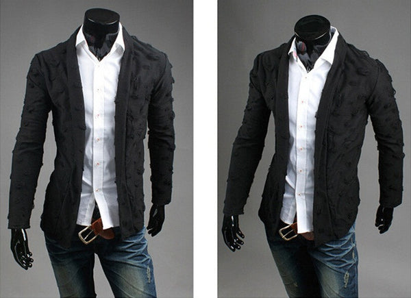 Cardigan Men Slim 2 colors
