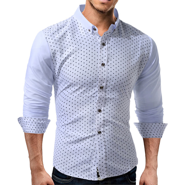 Men Shirt Long Sleeve 3 colors