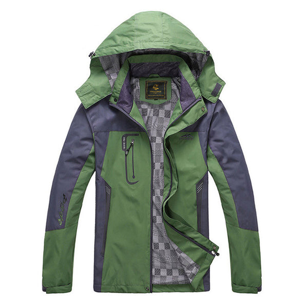 Spring autumn mens jacket Waterproof Windproof available in 4 colors
