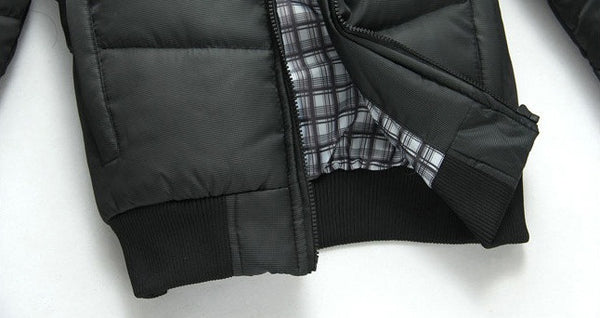 Winter jacket hooded