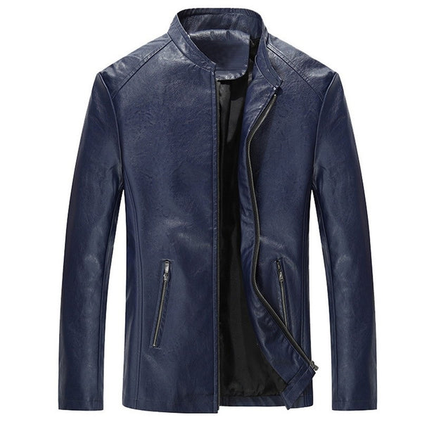 Men Quality Leather Jackets 3 colors