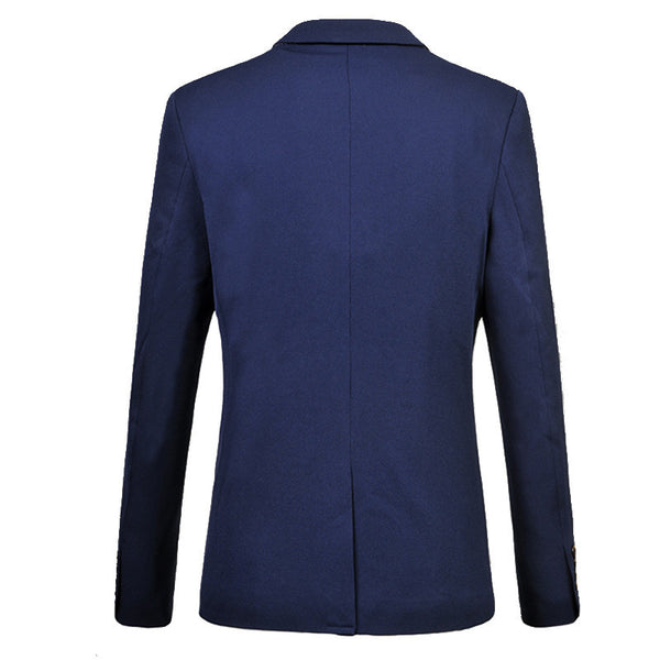 Blazer available 4 colors black/ khaki/ blue/ navy
