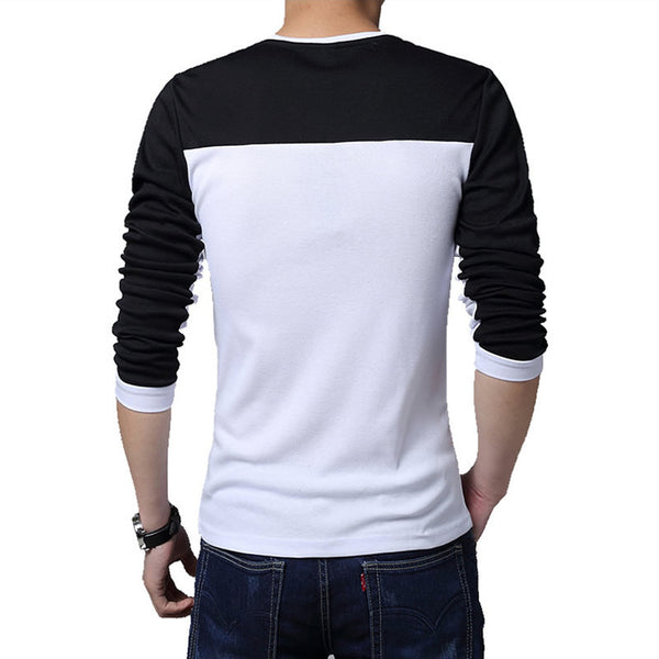 T-shirt mens long sleeve avaialble 3 colors