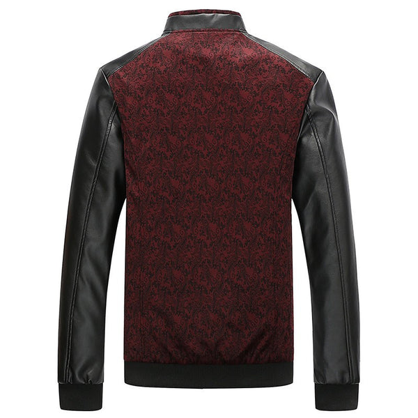 Autumn Slim Mens Jacket Leather (colors)