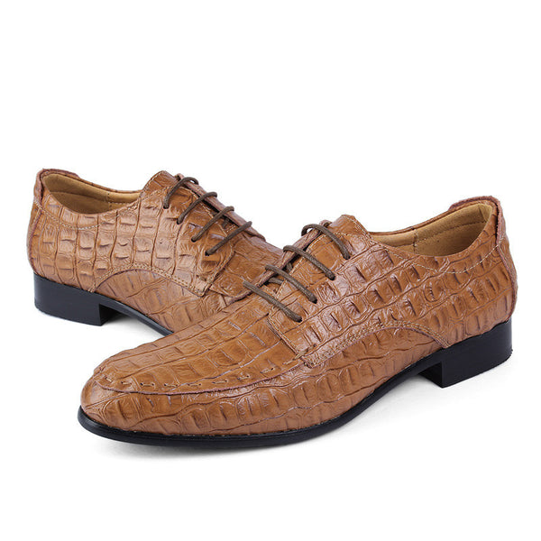 Mesn shoes genuine leather available in 4 colors