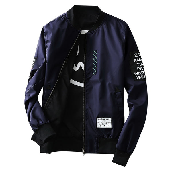 Bomber jacket  men 3 colors