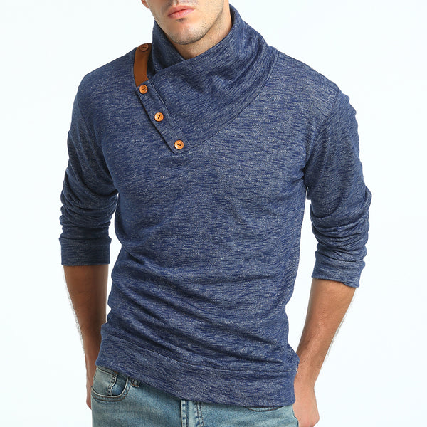 Knitted pullover for men 2 colors