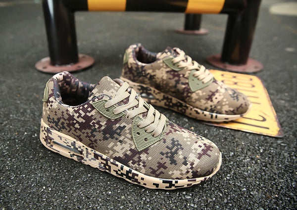Men camouflage shoes 3 colors