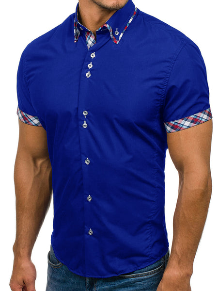 Men's short sleeve shirt 5 colors