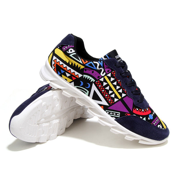 Fashion Sport Casual Shoes available 3 colors Blue/ Red/ Black