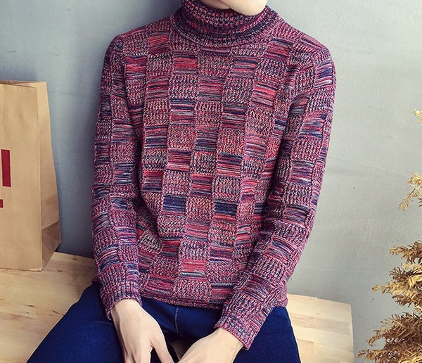 Knitted sweater men 3 colors