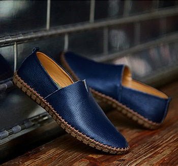 Leather Casual Slip-ons 5 colors