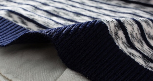 Men's striped sweater 3 colors