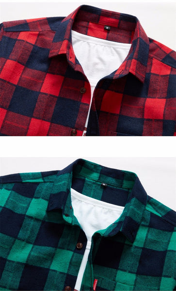 Men Shirt Long Sleeve 4 colors