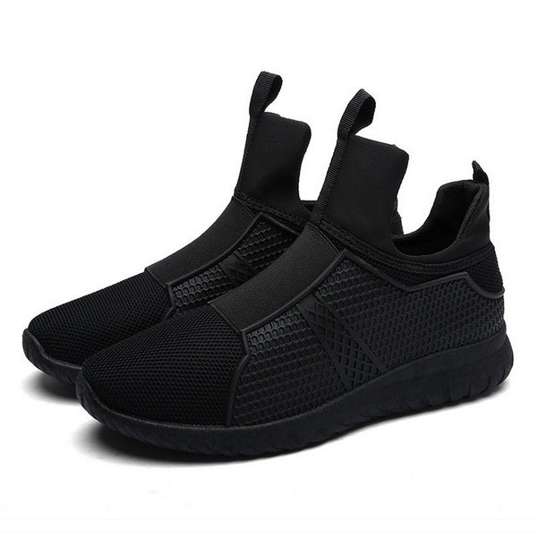 Men Comfortable Shoes color Black / White / Red