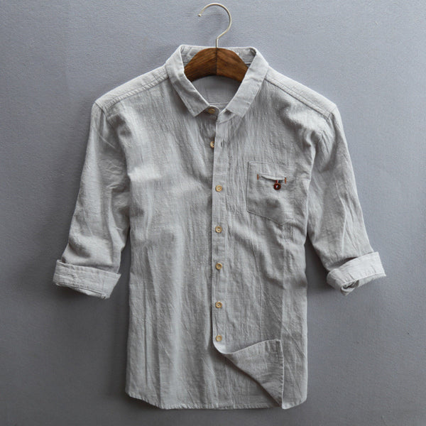 Linen shirt 3 colors
