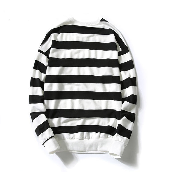 Striped pullover 2 colors