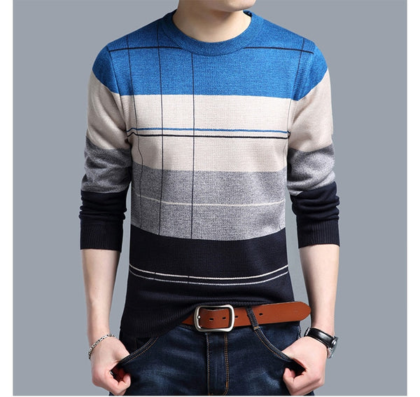Checkered Sweater (3 colors)