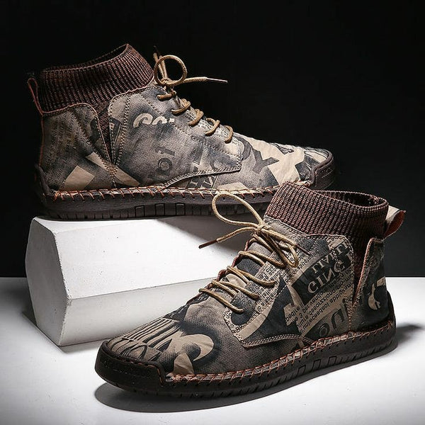 Mens Fashion Boots / Sneakers Black / Brown