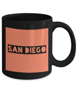 Traveler's San Diego City Coffee Mug - SAN DIEGO - Best Gift for San Diego Lovers