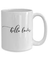 Hello Lover Cool Coffee Mug