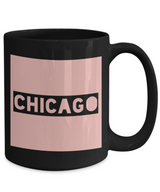 Traveler's Chicago City Coffee Mug - CHICAGO - Best Gift for Travelers