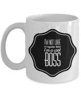 I'm a Cool Boss Gift Coffee Mug