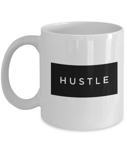 Hustle Cool Motivational Coffee Mug