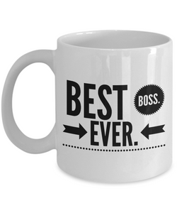 Best Boss Ever Gift Coffee Mug