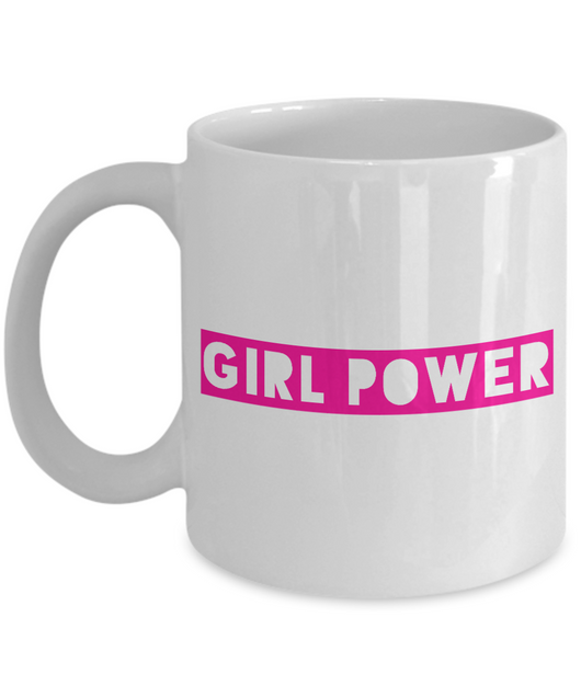 Political Coffee Mug - Girl Power
