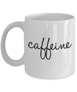 Caffeine Cool Coffee Mug