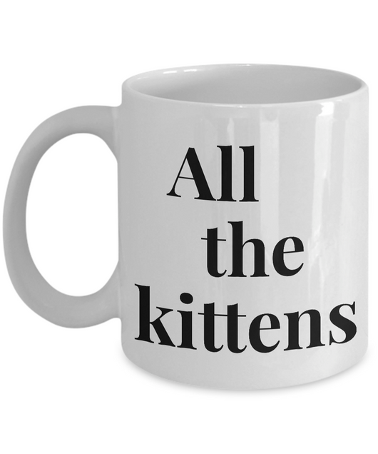 Cool Coffee mug - All the kittens