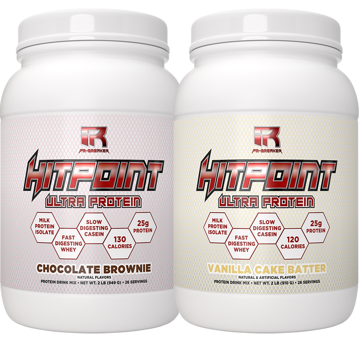 HITPOINT Protein 2 Bottle Combo (SAVE $10)