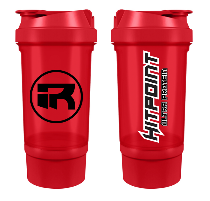 PR-BREAKER 500ml HITPOINT Shaker Bottle RED