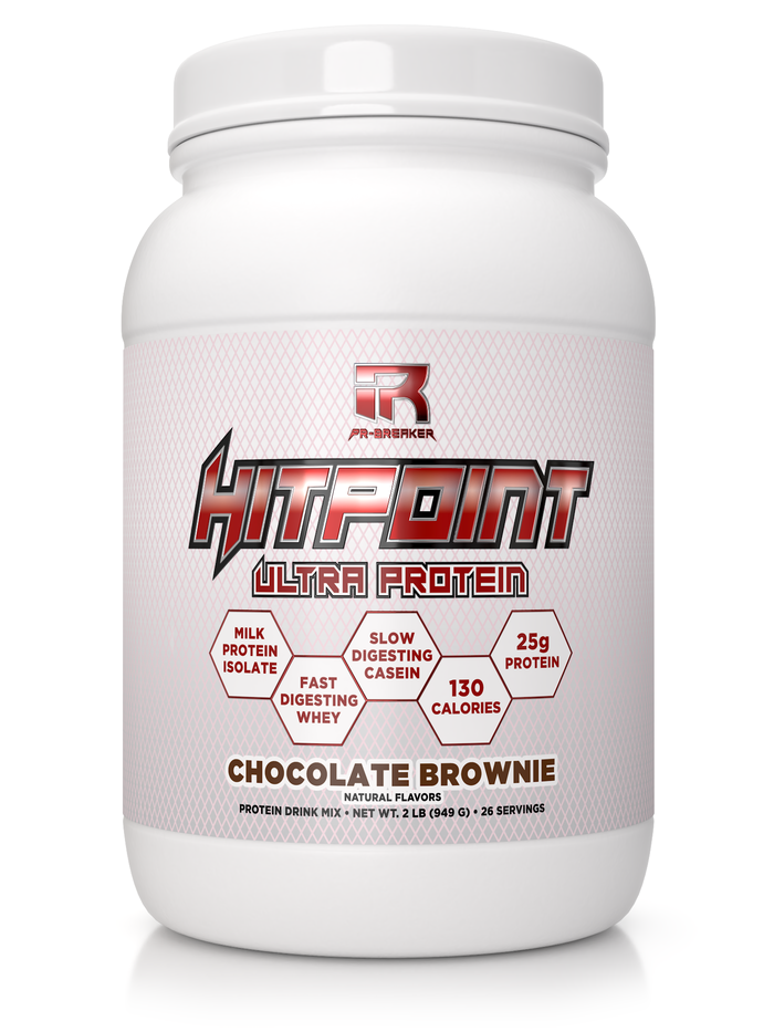 HITPOINT Ultra Protein: Chocolate Brownie