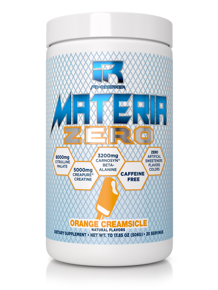 MATERIA ZERO Orange Creamsicle (Caffeine-Free)