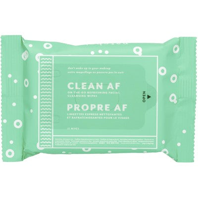 Patchology Clean AF facial wipes