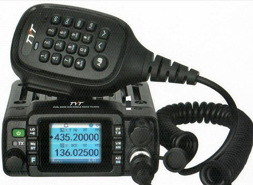 25w waterproof radio with dual band antenna