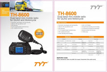 25w Waterproof Dual Band Mobile Radio Bundle with UHF NGP antenna.